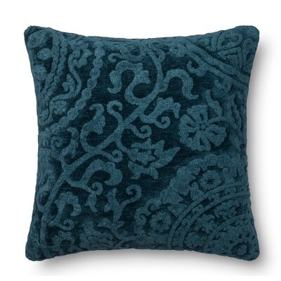 Leavens Throw Pillow Color: Abyss