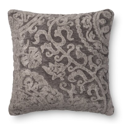 Leavens Throw Pillow Color: Ash