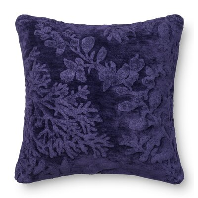 DR. G Throw Pillow Color: Blue/Berry