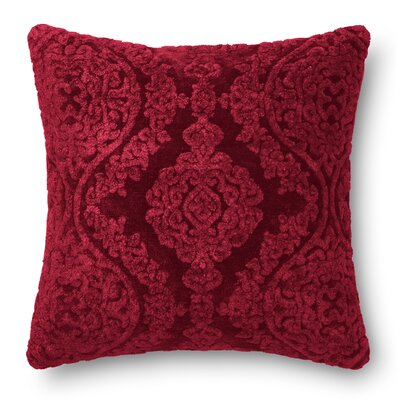 Lebel Throw Pillow Color: Wine