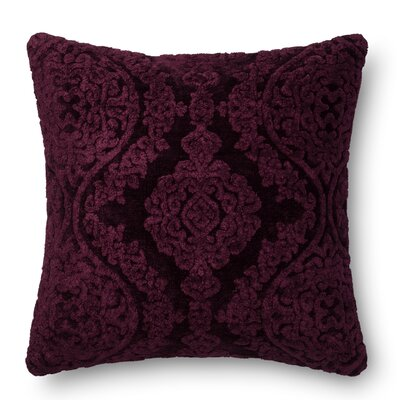 DR. G Throw Pillow Color: Eggplant
