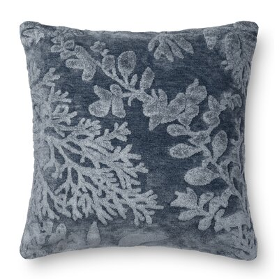 DR. G Throw Pillow Color: Denim