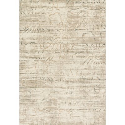 Kingston Cream Area Rug Rug Size: 27 x 12