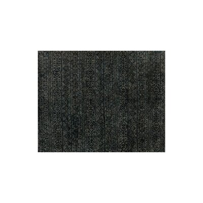 Orton Hand-Woven Black Area Rug Rug Size: Rectangle 4 x 6
