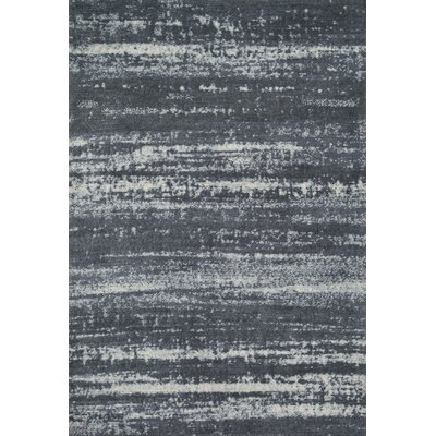 Wilde Charcoal Area Rug Rug Size: Rectangle 76 x 96