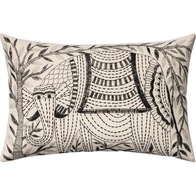 Cotton Lumbar Pillow Cover