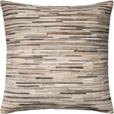 Faherty Throw Pillow Cover Color: Gray