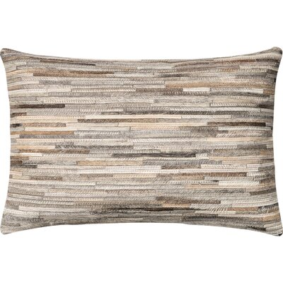Couffer Lumbar Pillow Cover Color: Gray