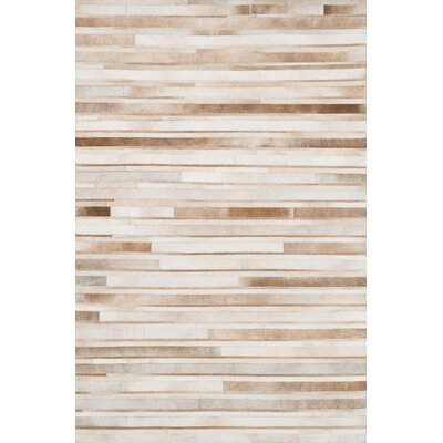 Murtaz Sand Area Rug Rug Size: Rectangle 76 x 96