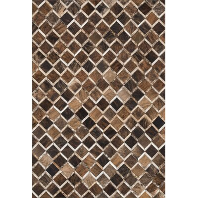 Murtaz Brown Area Rug Rug Size: Rectangle 5 x 76