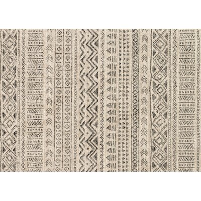 Aparicio Ivory Area Rug Rug Size: Rectangle 92 x 127
