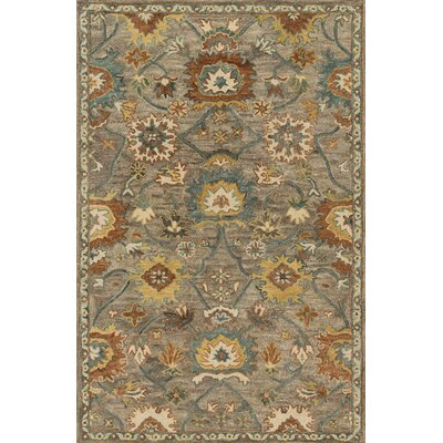 Underwood Gray Area Rug Rug Size: 23 x 39