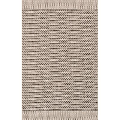Isle Gray Indoor/Outdoor Area Rug Rug Size: 92 x 121
