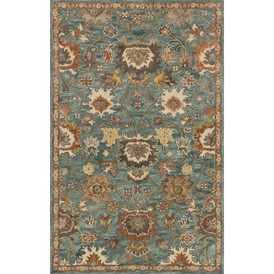 Durkee Blue Area Rug Rug Size: Rectangle 36 x 56