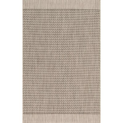 Isle Gray Indoor/Outdoor Area Rug Rug Size: 2'2