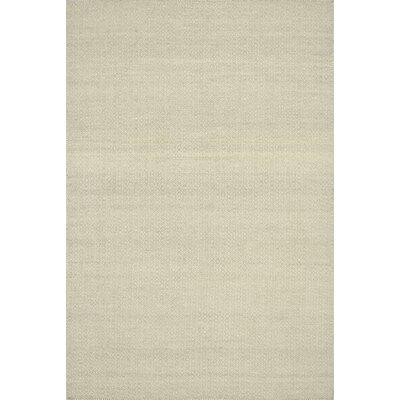 Harper Hand-Woven Beige Area Rug Rug Size: 36 x 56