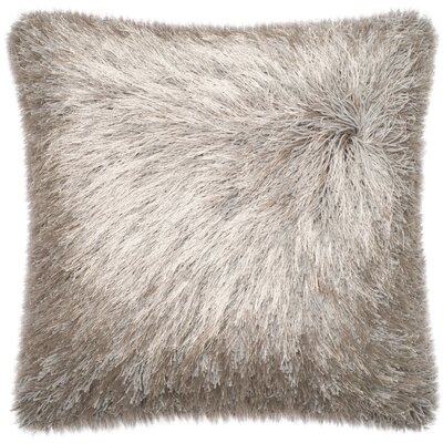Ostrom Throw Pillow Color: Silver