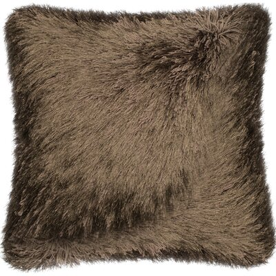 Ostrom Throw Pillow Color: Brown