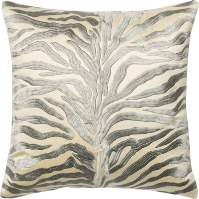 Throw Pillow Color: Silver