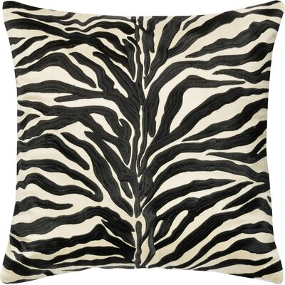 Throw Pillow Color: Black
