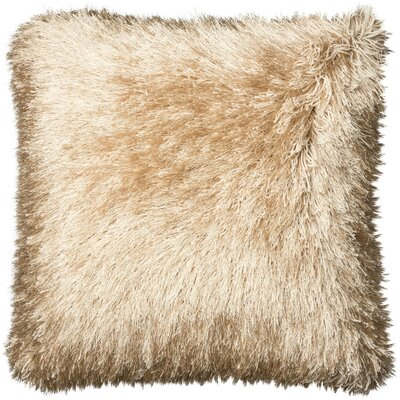 Ostrom Throw Pillow Color: Gold/White