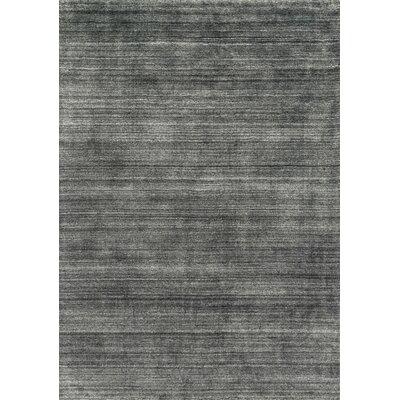Barkley Hand-Woven Charcoal Area Rug Rug Size: 12 x 15