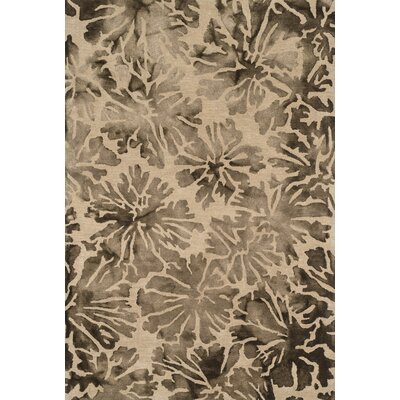 Beckett Brown Area Rug Rug Size: 23 x 39