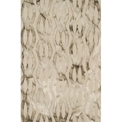 Beckett Taupe Area Rug Rug Size: 79 x 99