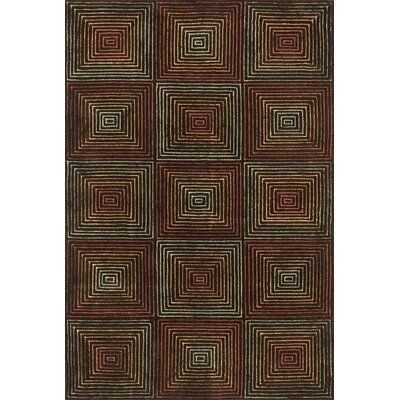 Boca Brown Area Rug Rug Size: 79 x 99