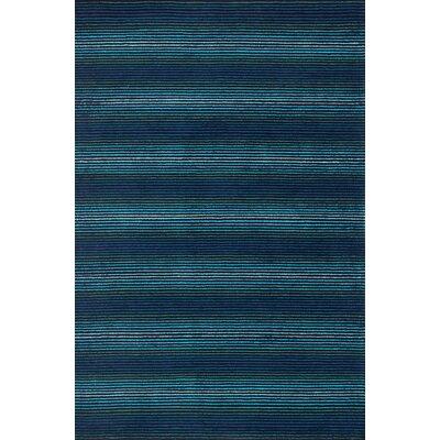 Boca Blue Area Rug Rug Size: 36 x 56