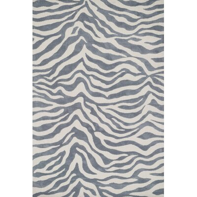 Cassidy Ivory/Gray Area Rug Rug Size: 76 x 96