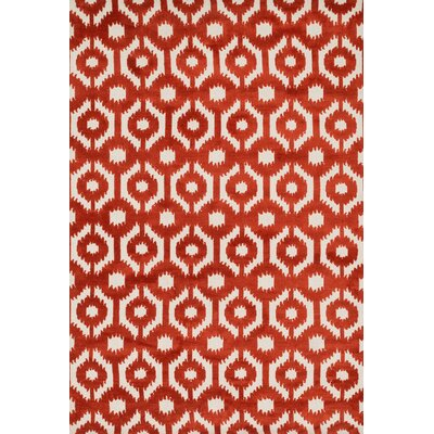 Cassidy Rust Area Rug Rug Size: Rectangle 76 x 96