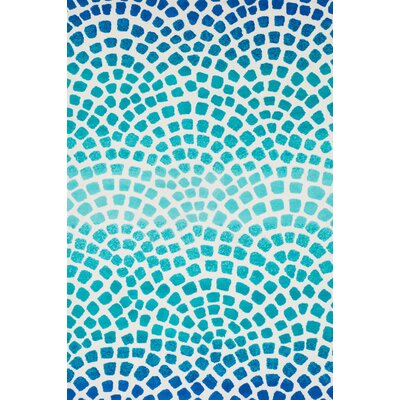Cassidy Blue Area Rug Rug Size: Rectangle 76 x 96