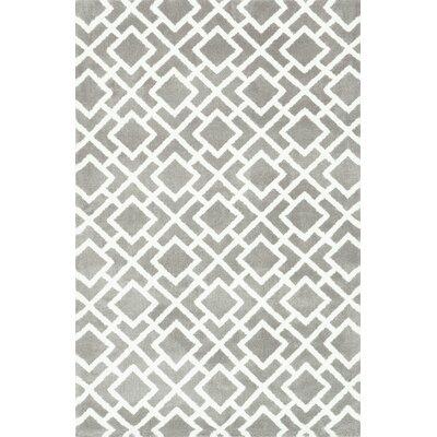 Charlotte Ash Area Rug Rug Size: Rectangle 76 x 96