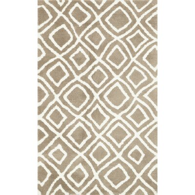 Charlotte Beige Area Rug Rug Size: Rectangle 76 x 96
