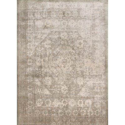 Anastasia Gray/Sage Area Rug Rug Size: Rectangle 13 x 18