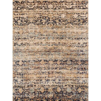 Anastasia Sand Area Rug Rug Size: Rectangle 37 x 57