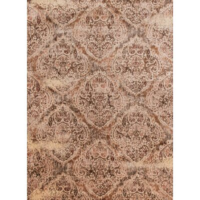 Anastasia Brown/Bronze Area Rug Rug Size: Rectangle 6'7