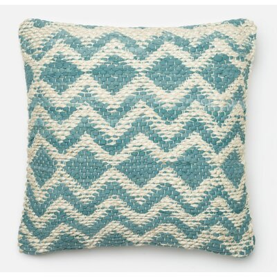 Throw Pillow Color: Blue/Gray