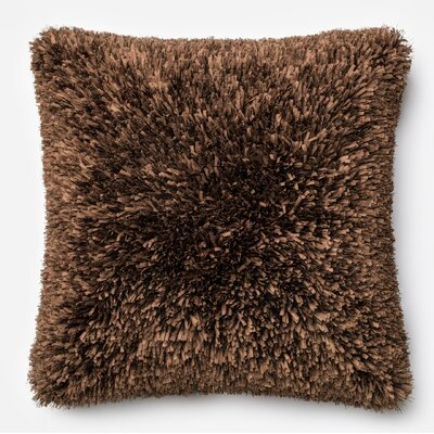 Pillow Cover Color: Brown