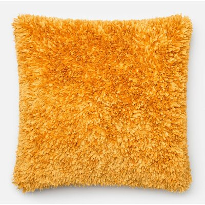 DeSisto Pillow Cover Color: Gold