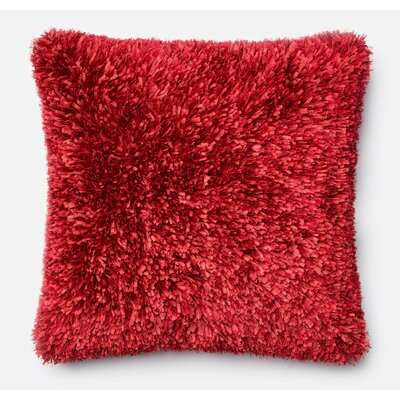 DeSisto Pillow Cover Color: Red