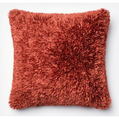 Pillow Cover Color: Rust