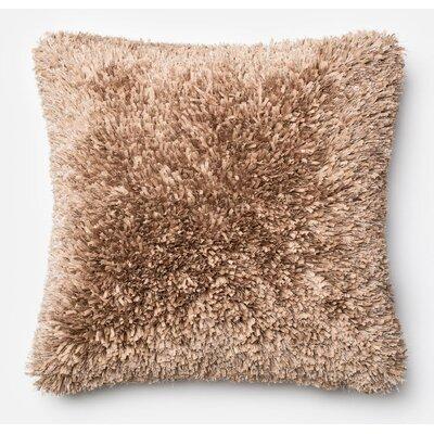 DeSisto Pillow Cover Color: Tan