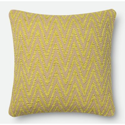 Curtsinger Pillow Cover Size: 18 H x 18 W x 0.25 D, Color: Avocado