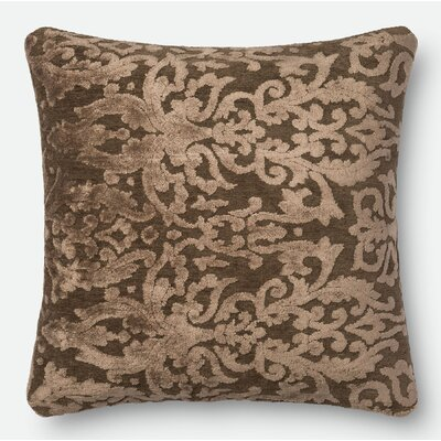 Pillow Cover Size: 18 H x 18 W x 0.25 D, Color: Coffee