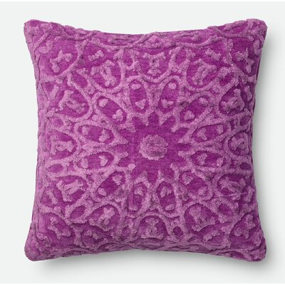 Throw Pillow Color: Orchid