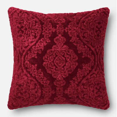 Lebow Throw Pillow Color: Wine