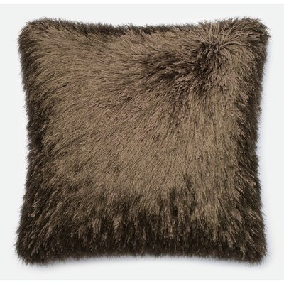 Leonce Throw Pillow Color: Brown