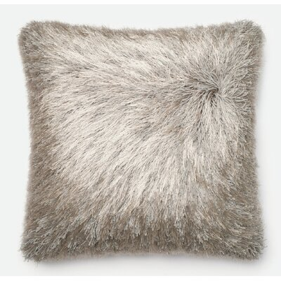 Leonce Throw Pillow Color: Silver